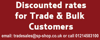 For Trade Prices call 01527576193