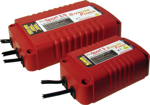 Sterling Power 12v 5A ProSport Battery Charger. PN: PS125