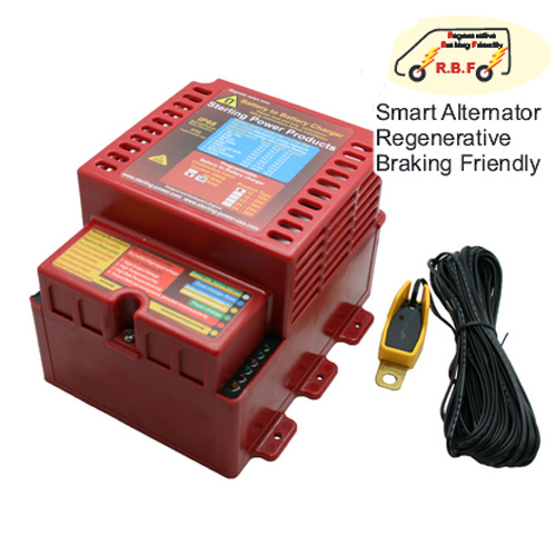 Sterling Power Waterproof IP68 Battery to Battery 12V-12V 60a Charger - PN:BBW1260