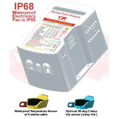 Sterling Power 12V - 24V 10A (at 24V) Chemistry Module PN:BCM1224