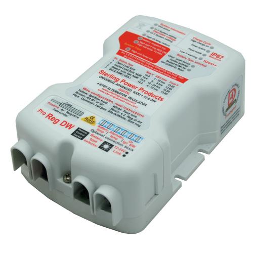 Sterling Power Waterproof Digital Advanced 12/24v Alternator Regulator – PDARW