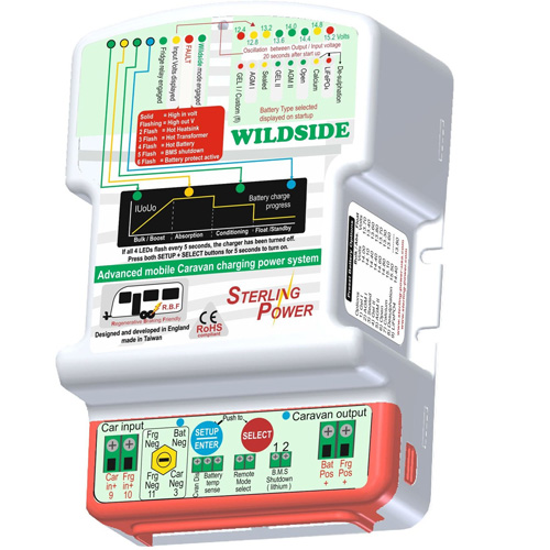 Sterling Power Wildside Caravan Battery to Battery Charger PN: BBC1225
